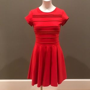 Red Parker Pleated dress size XS